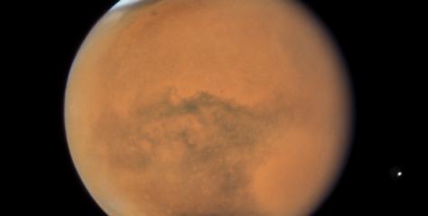 Les trois stades de la tempête de poussière sur Mars